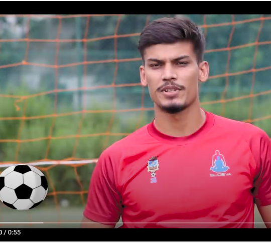 Meet Sachin Jha – Goalkeeper of Sudeva Delhi FC.