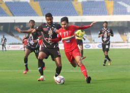 Sudeva vs Mohammedan I-league match action